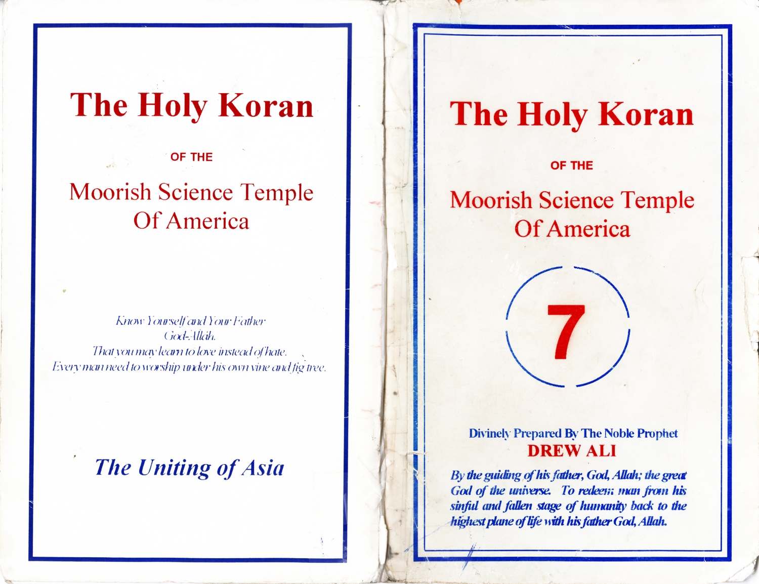 Mapping The Spirit—Unity in the Moorish Science Temple of