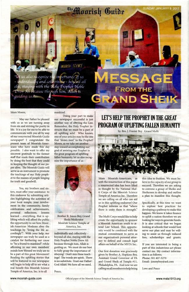 Mapping The Spirit—The Moorish Guide Newspaper